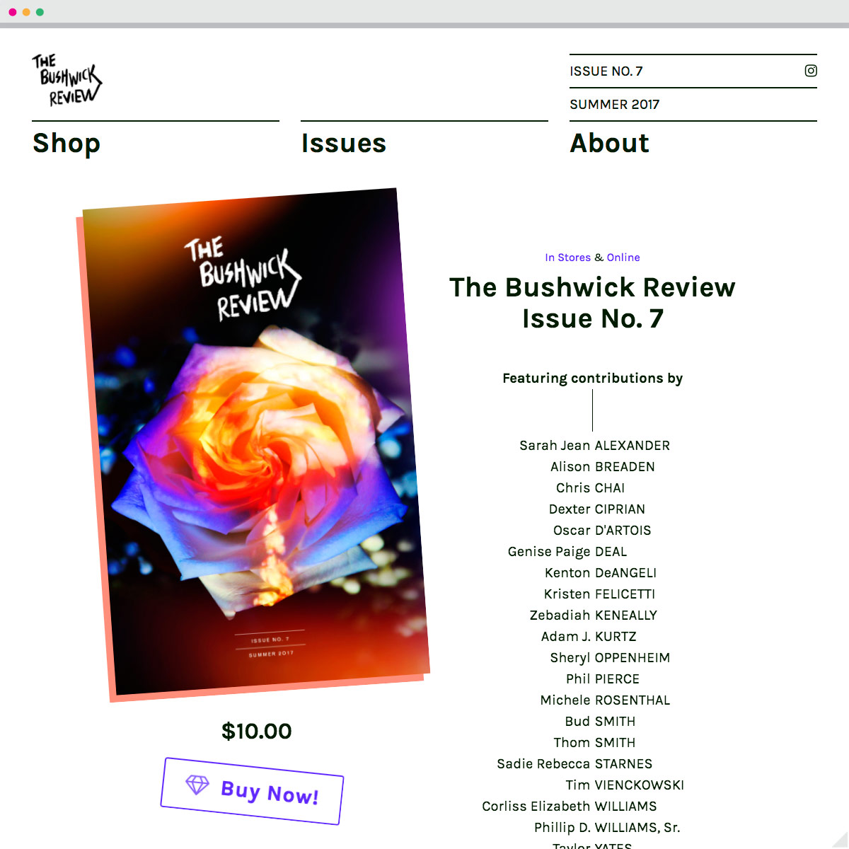 The Bushwick Review . com | The Bushwick Review